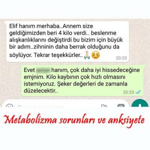 Metabolizma sorunları ve anksiyete
